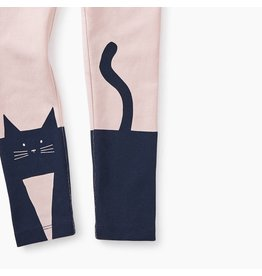 Tea Collection Curious Cat Graphic Leggings