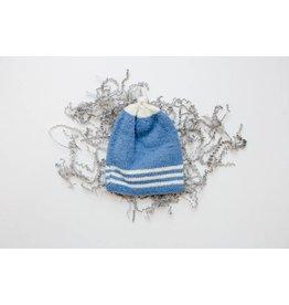 Pinewood Organic Pinewood Organic Hat - Cornflower Blue Classic Top-Knot