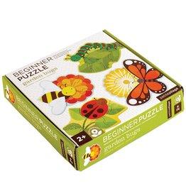 Petit Collage Beginner Puzzle - Garden Bugs