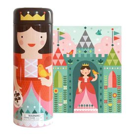 Petit Collage Tin Canister Puzzle - Royal Castle