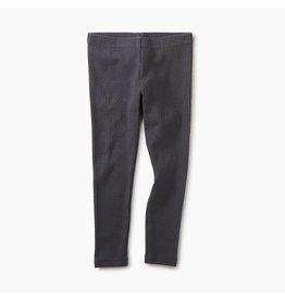 Pointelle Leggings - Coal