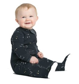 Zippyjamz Zippy Jamz Footie - Galaxy Love (Navy)