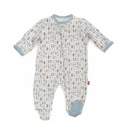 Magnificent Baby Magnetic Cotton Footie - Beary Good Pals