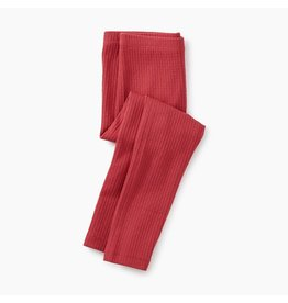 Tea Collection Pointelle Leggings - Pomegranate