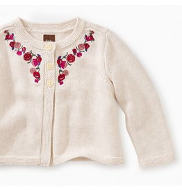 Tea Collection Eleanor Embroidered Cardigan II