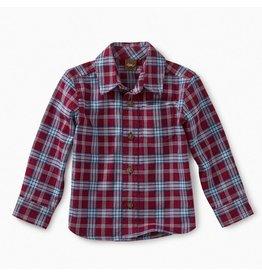 Tea Collection Lakeshore Plaid Baby Button Shirt