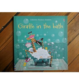 Usborne Giraffe in the Bath