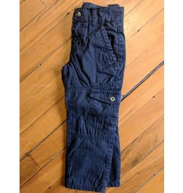 Kanz Lined Cargo Trousers - True Blue