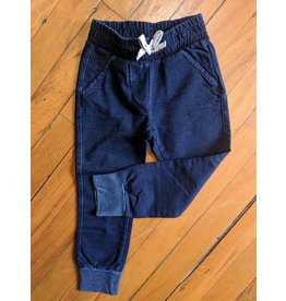 Kanz Indigo Wash Denim Jogger