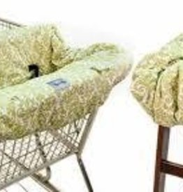 Itsy Ritsy Itsy Ritsy shopping cart/high chair cover green