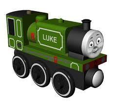 Fisher Price Fisher Price  Thomas and friends  engine LUKE