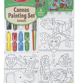 Melissa and Doug Melissa and Doug Canvas Painting Set - Animals