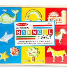 Melissa and Doug Melissa and Doug Wooden Stencil Set
