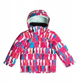 Roxy Roxy Mini  jacket  snow jetty penguins sz 3