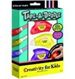 creativity for kids Creativity for Kids Tape-a-Doodle Animal Prints 3-Pack