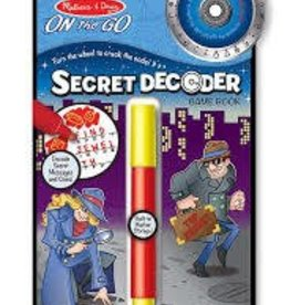 creativity for kids Melissa and Doug Secret Decoder Game Book