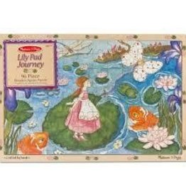 Melissa and Doug Melissa and Doug Lily Pad Journey Wooden Jigsaw Puzzle - 96 pc