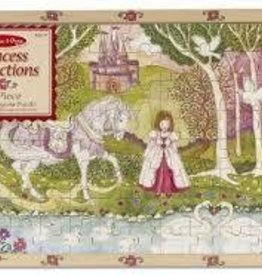 Melissa and Doug Meslissa and Doug Pastoral Princess Wooden Jigsaw Puzzle (96 pc)
