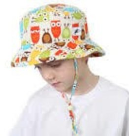 Puffin Gear Puffin Gear hat sunbaby hoot earth 2-5