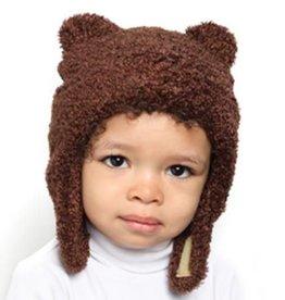 Puffin Gear Puffin Gear hat brown chenille 12-24 mths