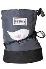 Stonz Stonz booties bird gray M