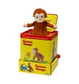 Schylling Schylling jack in box curious george