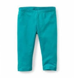 Tea Collection Tea Collection solid capris leggings blue sz 2