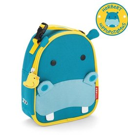 Skip Hop Skip Hop zoo lunchie insulated lunch bag hippo