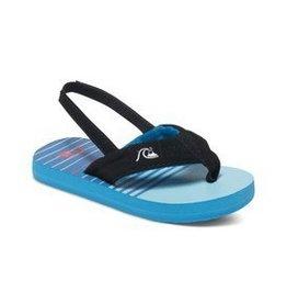 Quiksilver Quiksilver Molokai sandal blue  sz 4
