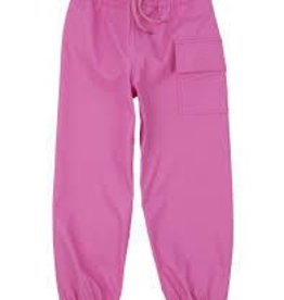 Hatley Hatley splash pants pink  sz 7