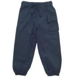 Hatley Hatley splash pants navy  sz 8