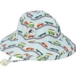 Puffin Gear Puffin Gear hat Sunbaby road trip blue  12-24
