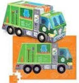 crocodile creek Crocodile Creek recycling truck puzzle 48 pc