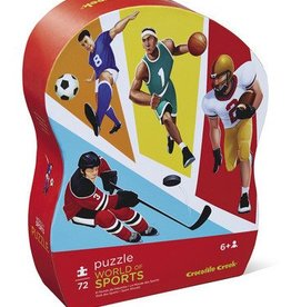 Melissa and Doug Crocodile Creek 72 pc world of sports