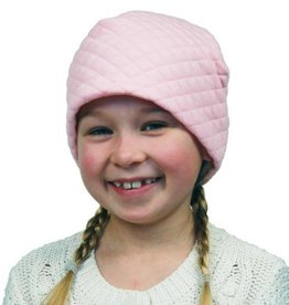 Puffin Gear Puffin Gear hat quilted light pink 2-5 yrs