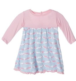 kickee pants Kickee Pants dress l/s cuttlefish 18-24 m