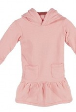 kickee pants Kickee Pants dress hoodie fleece l/s blush sz 3