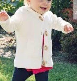 beba bean Beba Bean ivory knit sweater sz 12-18  mths