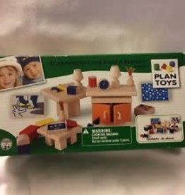 plan toys Plan Dollhouse Accessories Living Room &Bedrrom