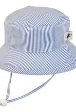 Puffin Gear Puffin Gear hat sunbaby blue natty stripe 12-24 m