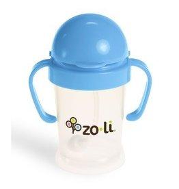 Zoli Zoli sippy cup blue with straw 6 oz