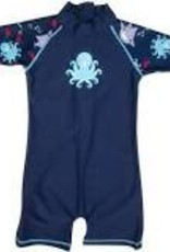 Banz one piece swim wear octopus