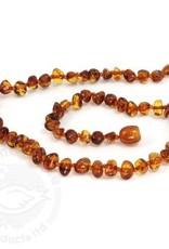 momma goose amber necklace baroque congnac m