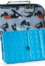 go green lunchbox set extreme sports