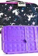 go green lunchbox set unicorn