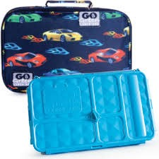 Go green lunchbox set fast flames