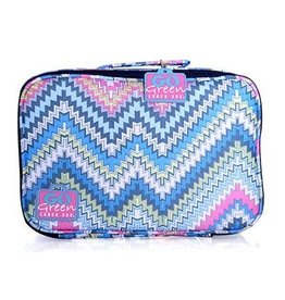 go green lunchbox set zoe zig zag