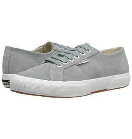 Superga Light Grey Suede