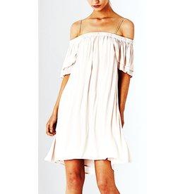 Dolce Off the Shoulder Petal Dress