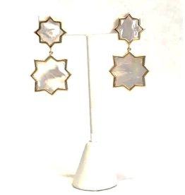 ASHA Kismet Double Earrings